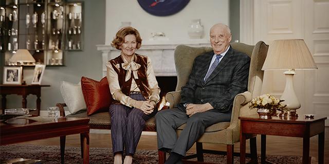 King Harald Queen Sonja