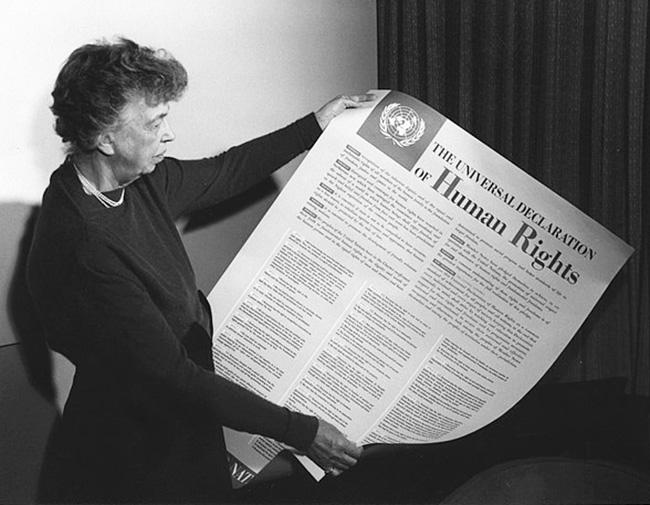 Eleanor Roosevelt - peace