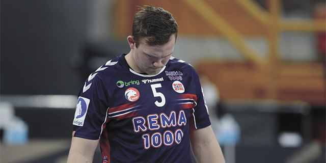 Sagosen of the Norwegian men's handball team