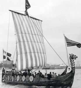 Geneva viking ship