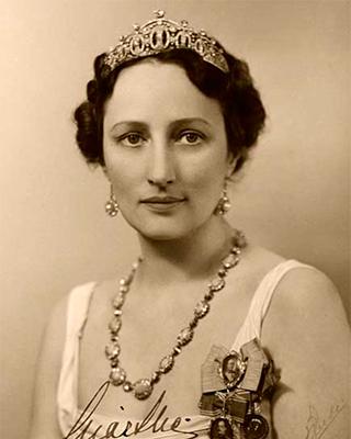 Crown Princess Märtha in an official royal portrait