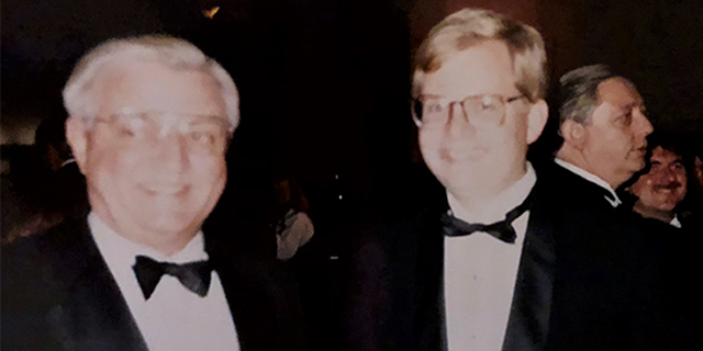 Walter Mondale and Phil Eskeland