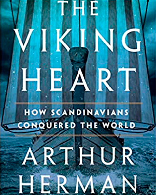 Book cover for The Viking Heart by Arthur Herman