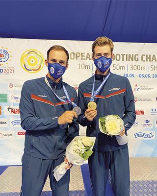Henrik Larsen and Jon-Hermann Hegg are medal contenders