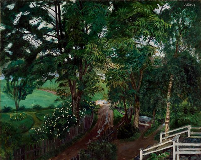 a Nikolai Astrup painting