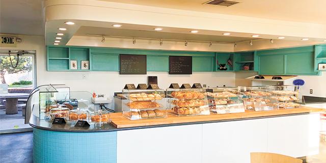 the counter of Ana's Norwegian Bakeri
