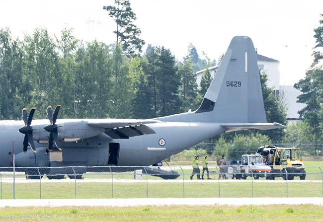 Norwegian military aircraft headed to Kabul