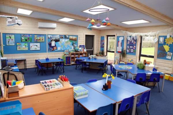 Modular Classrooms School Buildings Norwegian Log