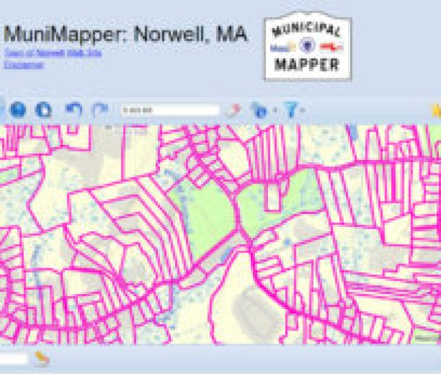 The Norwell Municipal Mapper Often Called Munimapper Is A Mapping Tool Created By Massgis And Available Through The Town Of Norwell Website For Residents