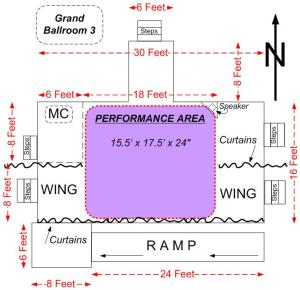 NWC42 Masquerade Stage Layout
