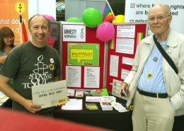 Norwich Amnesty stall at Norwich Pride 2017