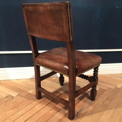 Distressed Leather Dining Chairs Uk Wheelchair Meaning In Hindi Bobbin Turned Leg Dinning Chair Norwich And Norfolk Upholstery