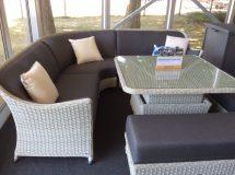 Bramblecrest Panama 6-seat Casual Corner Dining Set 2019