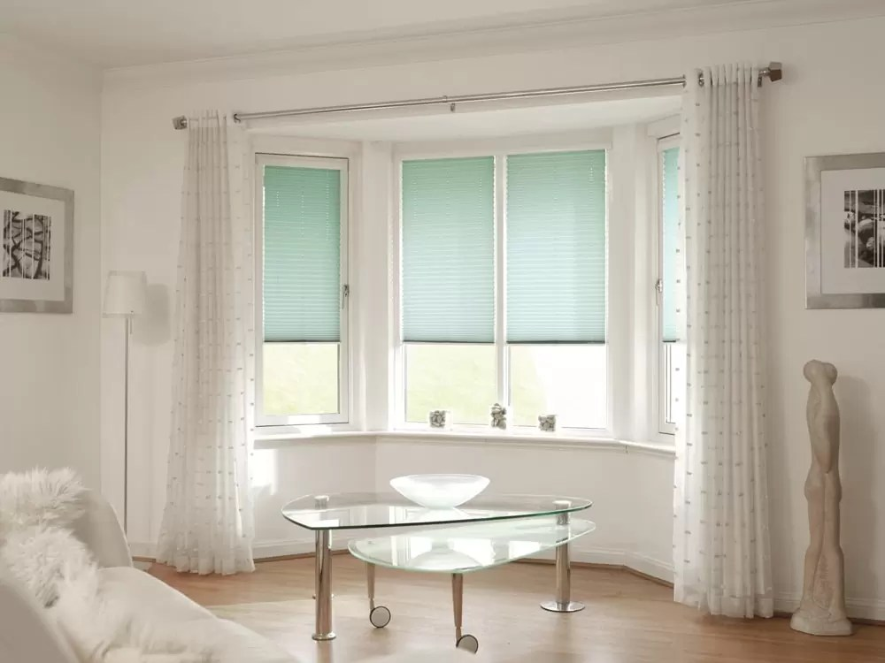 Pleated blinds  Norwich Sunblinds