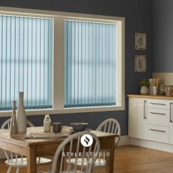 Bay Window Kitchen Curtains Wall Mount Faucet With Sprayer Vertical Blinds - Norwich Sunblinds