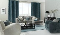 Living Room Blinds, Curtains and Shutters - Norwich Sunblinds