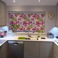 Kitchen Blinds Marble Sink New Roller Fitted In This Norwich Home Blind
