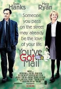 """Holiday Movies Film Series: """"You've Got Mail"""" @ Morrill Memorial Library, Simoni Room"""