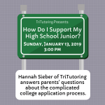 How Do I Support My High School Junior?