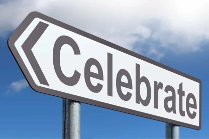 arrow-sign-saying-celebrate