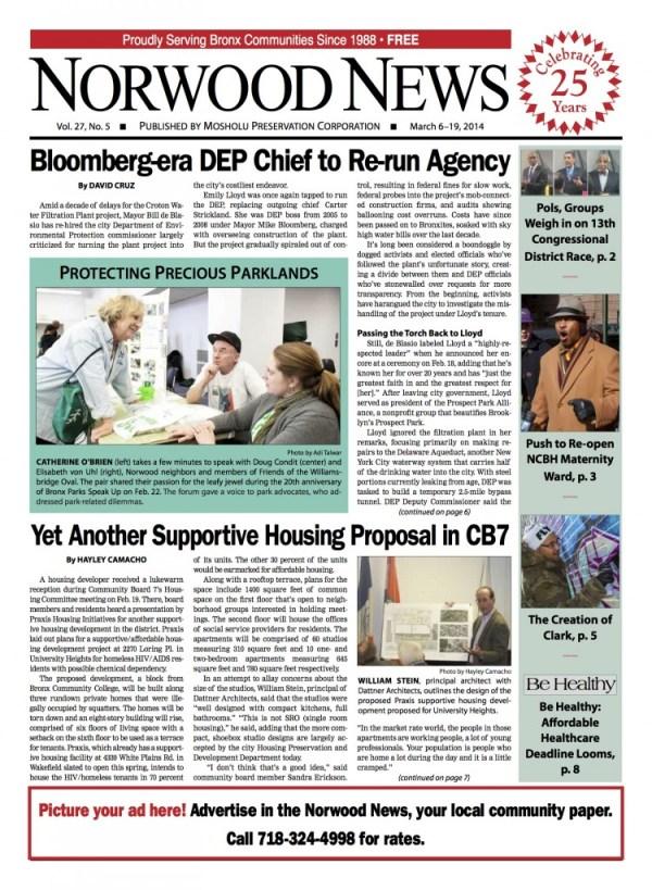 Bloomberg-era DEP Chief to Re-run Agency