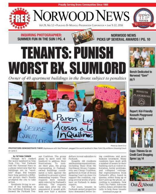 TENANTS: PUNISH WORST BX  SLUMLORD