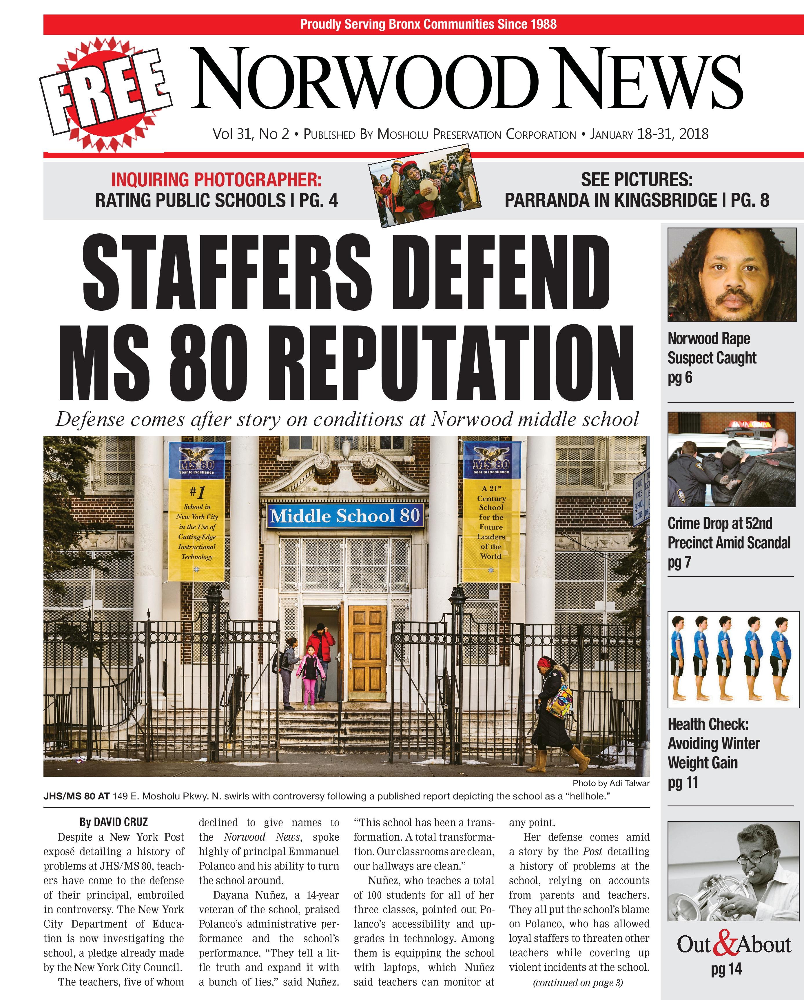 Latest Edition of the Norwood News is Out! - Norwood News