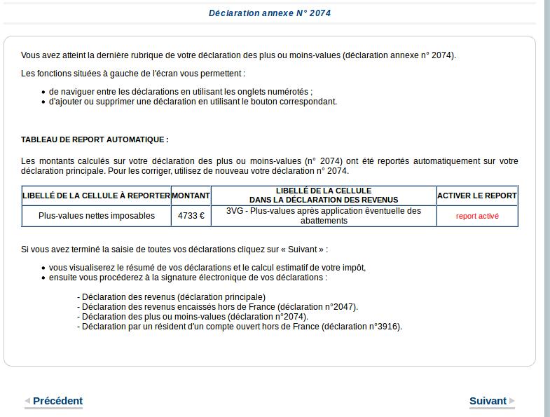 declaration 2074