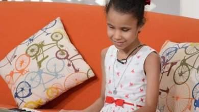 العازفة سارة أحمد من ذوي الهمم أصغر مُشاركة بمسابقة المواهب الذهبية