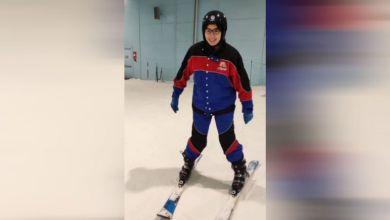 أول بطلة من ذوي الاحتياجات الخاصة تحترف التزحلق على الجليد في مصر