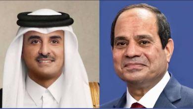 السيسي يُهنِّئ الرؤساء العرب بشهر رمضان 2021 ويتلقى اتصالًا من أمير قطر