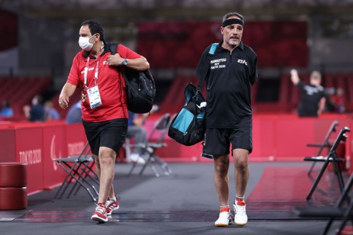 ورغم خسارة حمدتو أولى مبارياته بالمنافسات إلا أنه نال العديد من الإشادات.