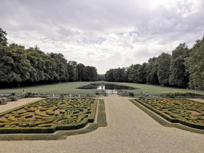 jardin du château de courances