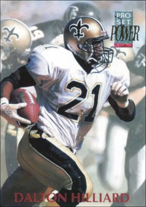 Dalton Hilliard 1992 Pro Set Card