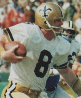 Archie Manning, Most Passing Attempts Saints All-Time