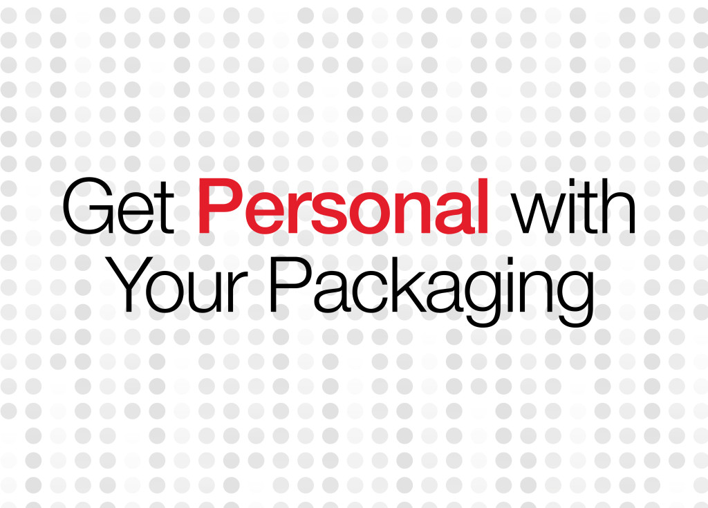 personalization a growing packaging