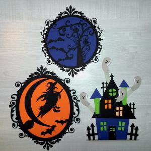 Et d'autres décorations d'Halloween