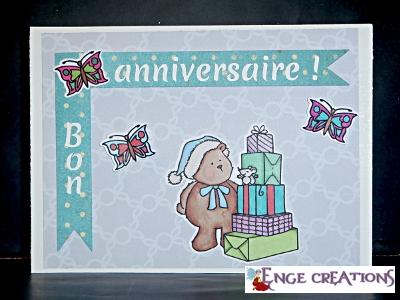 Carte d'anniversaire (CA-2)