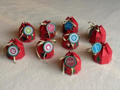 Bonbonnières de Noël