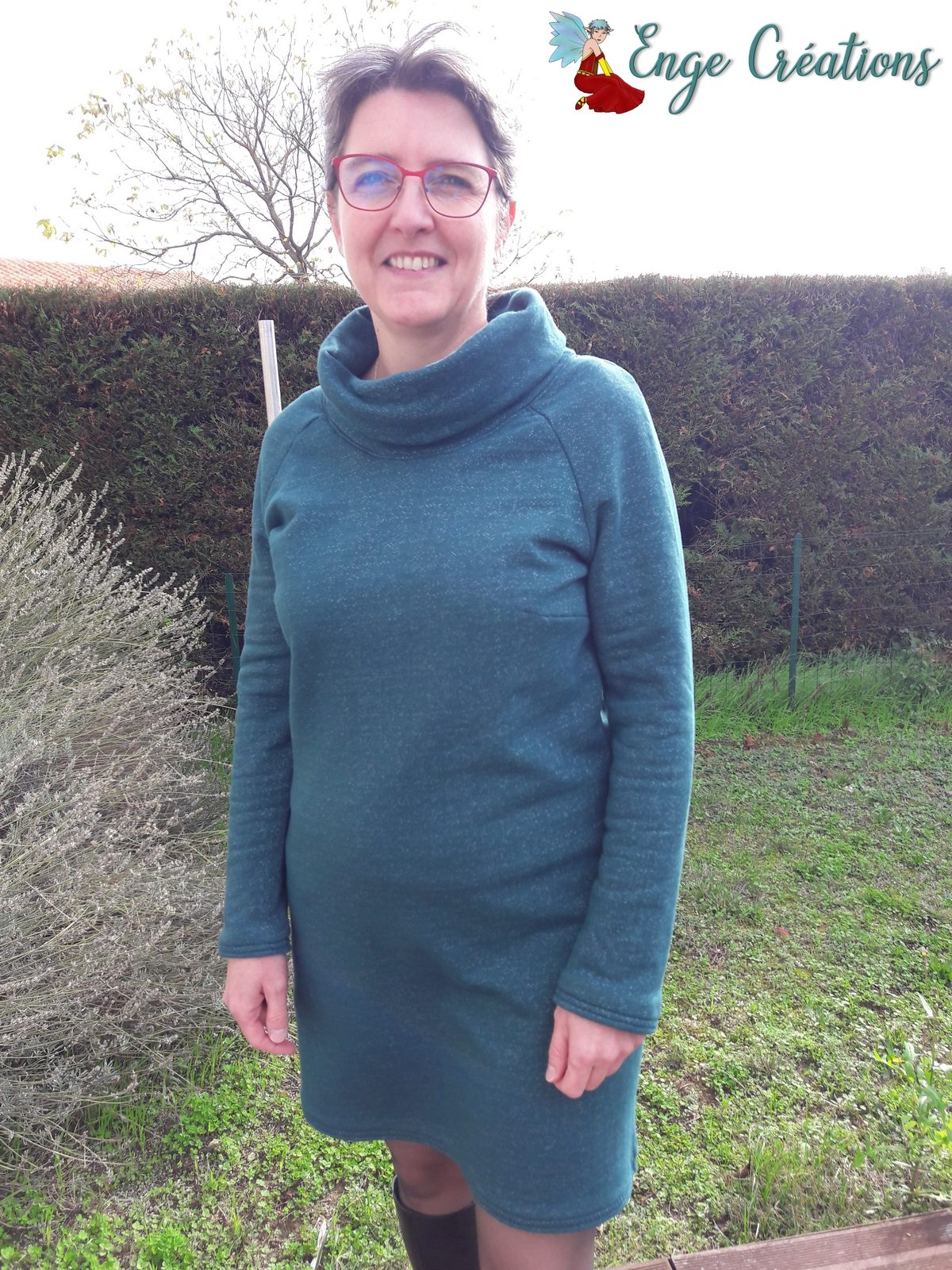 robe sweat Polly Studio Schnittreif