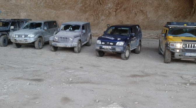 Gps and navigation course for 4 x 4
