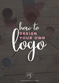 How to Design Your Own Logo  Nose Graze