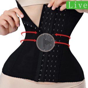 waist trainer binders shapers modeling strap corset slimming Belt underwear body shaper shapewear faja slimming belt tummy women 1