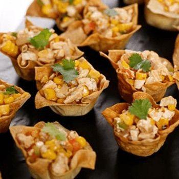 Tandoori Chicken Tartlets