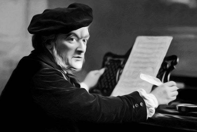 Kết quả hình ảnh cho Wilhelm Richard Wagner