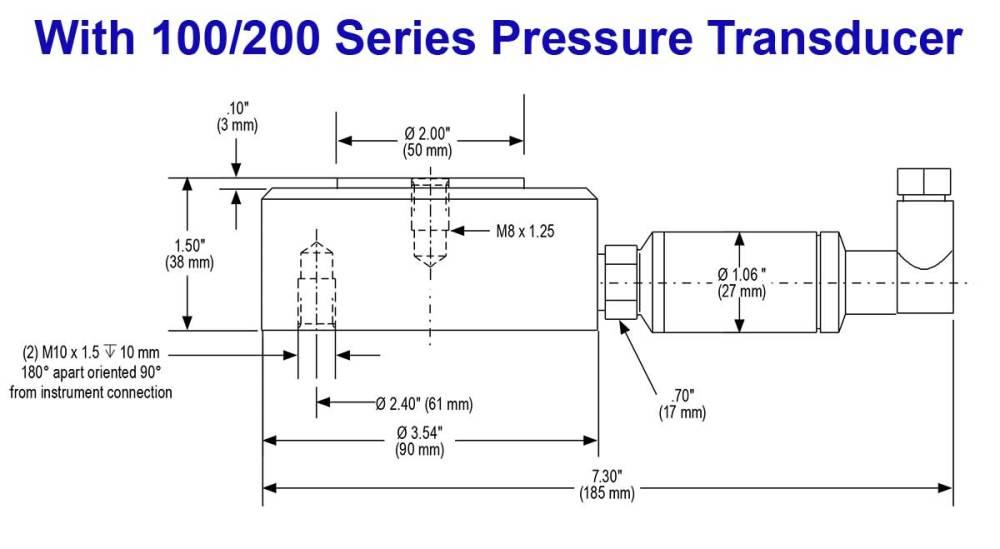 medium resolution of  with 100 200 series pressure transducer