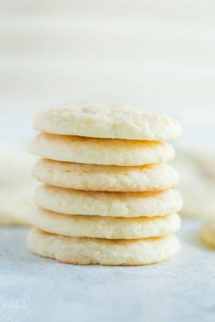 BEST Gluten Free Lemon Cookies!