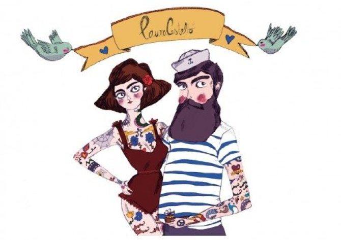 Laura Castelló-no sin mi barba