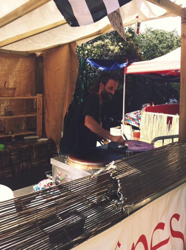 Chef barbudo en el Piknic #7