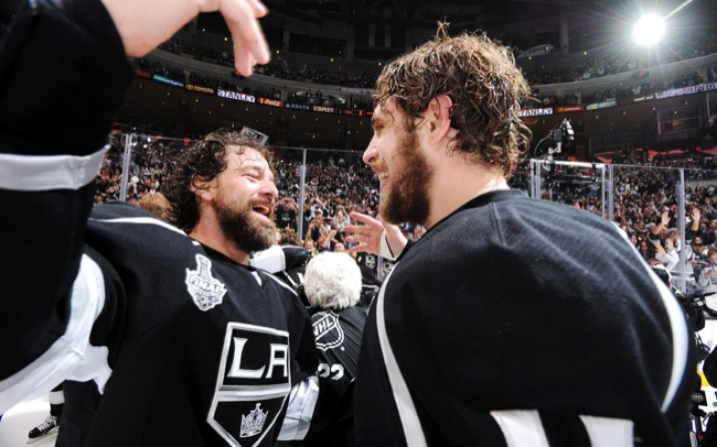 Barbas de la NHL-Williams y Kopitar